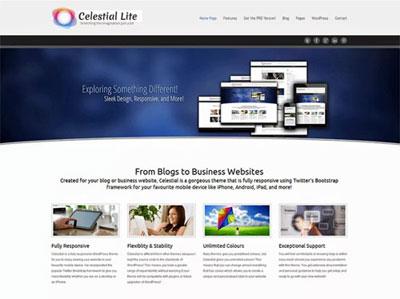Betaalbare websites in Arnhem - Thema: Celestial Lite