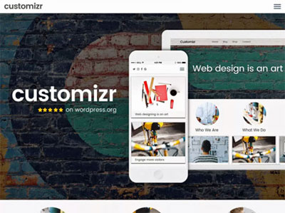 Customizr - betaalbare websites